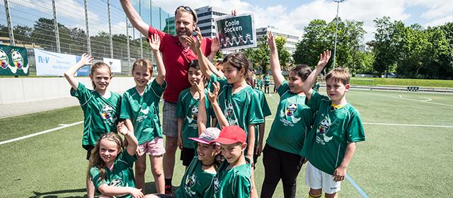 Glückliche Sieger des 1. Wiesbadener Welcome-Cups 2017