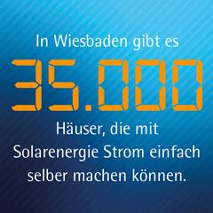 Strom einfach selber machen: Unsere Kampagne für das Umweltamt Wiesbaden